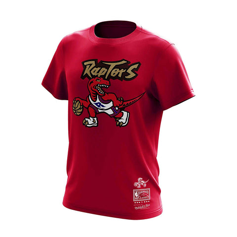 MITCHELL & NESS RAPTORS NBA TEAM GOLD TEE - Ateaze Canada