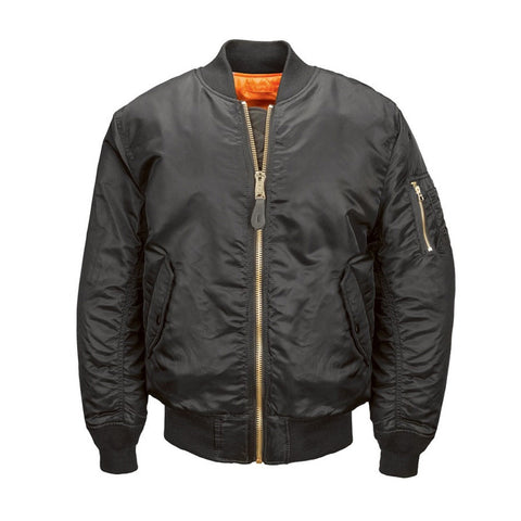 ALPHA INDUSTRIES WMNS MA-1 FLIGHT JACKET -BLACK - Canada