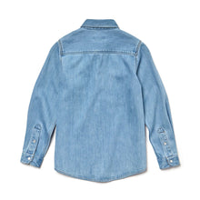 Load image into Gallery viewer, LACOSTE BOY'S COTTON DENIM SHIRT - CJ9001-51 - Ateaze Canada