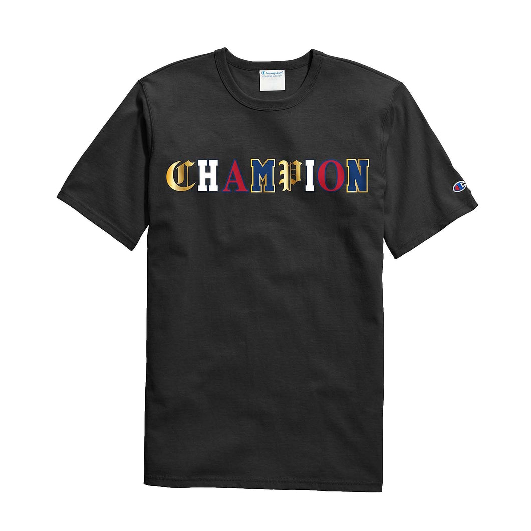 Champion Life® Men's Heritage S/S Tee, Old English Lettering - GT19 - Ateaze Canada