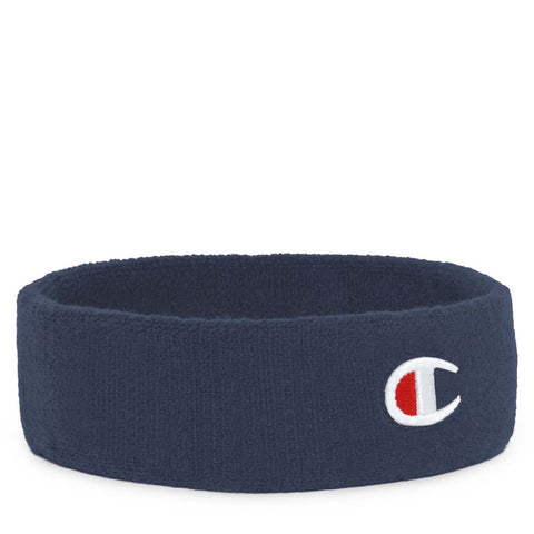 CHAMPION TERRY HEADBAND WITH 'C' EMBROIDERY - H0546L - Ateaze Canada