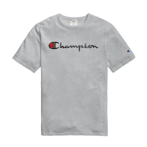 Champion Life® Men's Tee, Script Logo Elevated Graphics - T1919g-549465 - Ateaze Canada