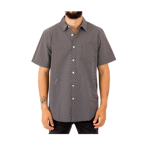 OBEY LANDRI WOVEN SS BUTTON-UP  -18120202 - Ateaze Canada