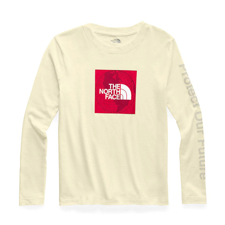 TNF W LS RECYCLED TEE - NF0a3x85f72 - Ateaze Canada