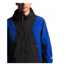 Load image into Gallery viewer, TNF M PERIL WIND JACKET (TNF BLACK/TNF BLUE) - NF0a4agf - Ateaze Canada
