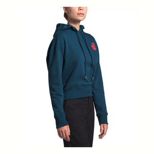 THE NORTH FACE W LOGO HAZE HOODY (BLUE WING TEAL) - NF0a4att - Ateaze Canada