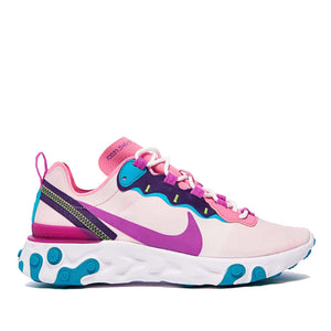 NIKE W REACT ELEMENT 55 (MAGIC FLAMINGO)