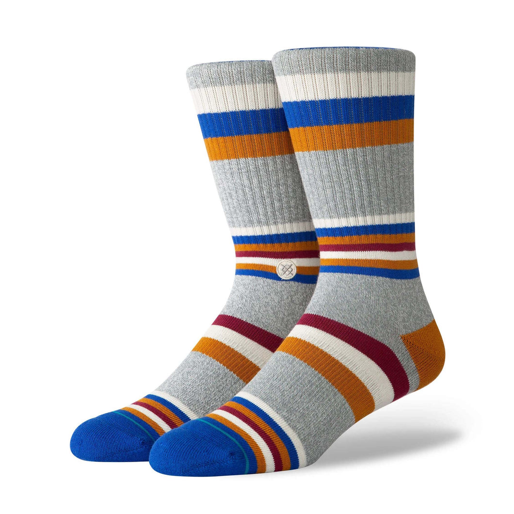 STANCE LIFE FITZGERALD COMBED COTTON SOCK - M556d19fit - Ateaze Canada