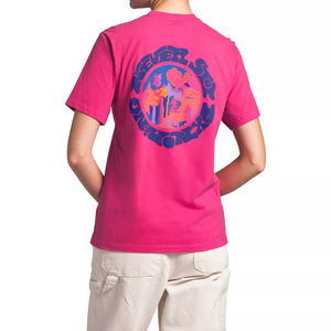 THE NORTH FACE W SS LOGO HAZE TEE (MR. PINK) - Ateaze Canada