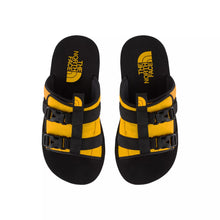 Load image into Gallery viewer, TNF M EQBC SLIDES (TNF BLACK/ TNF YELLOW) - Ateaze Canada