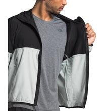 Load image into Gallery viewer, TNF M FLYWEIGHT HOODY (TIN GREY/TNF BLACK)