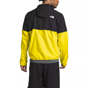 TNF M FLYWEIGHT HOODY (TNF LEMON/TNF BLACK)