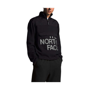 TNF M GRAPHIC 1/4 ZIP JACKET (TNF BLACK) - Ateaze Canada