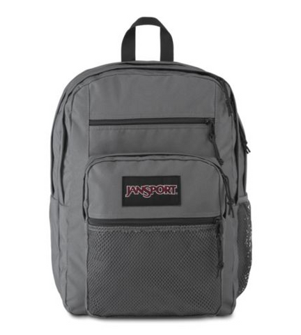 JANSPORT BIG CAMPUS BACKPACK (DEEP GREY)