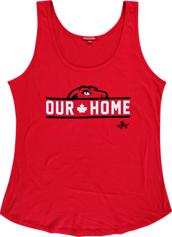 MITCHELL & NESS W RAPTORS HALF HEAD TANK (RED)