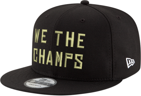 NEW ERA 950 '19 TORONTO RAPTORS 'WE THE CHAMPS' TROPHY CHAMPS SNAPBACK