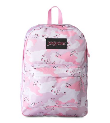 JANSPORT BLACK LABEL SUPERBREAK BACKPACK (CAMO CRUSH)