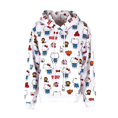 LEVI'S x HELLO KITTY ALL-OVER 'UNBASIC' HOODIE - 74318-0038 - Ateaze Canada