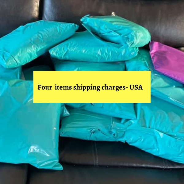 Shipping charges for Four items-USA