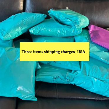 Shipping charges for Three items-USA