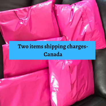 Shipping charges for Two Items-Canada