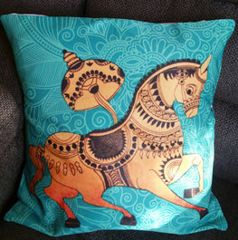 Horse Digital Print Bohemian Cushion Covers