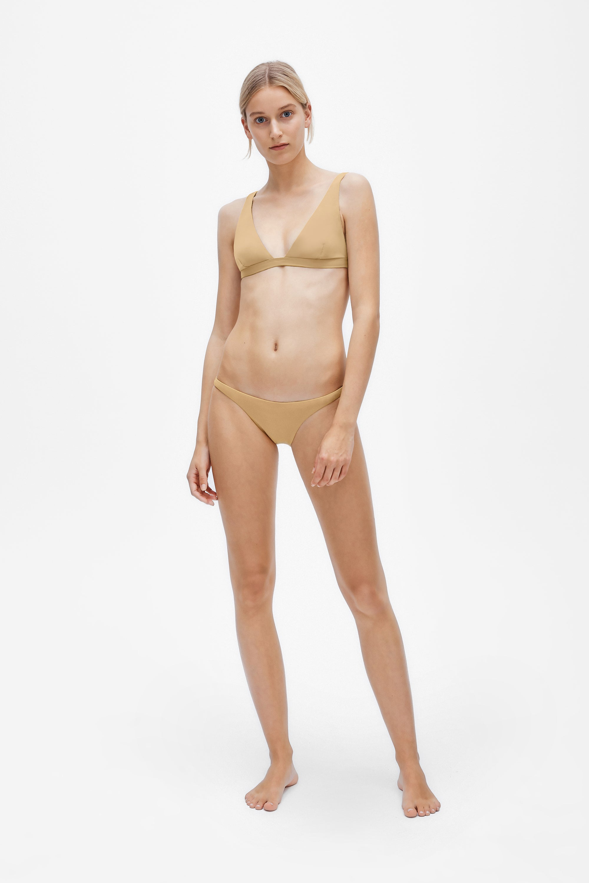Audrey two-piece set - Light straw - Swim two piece - Her Line
