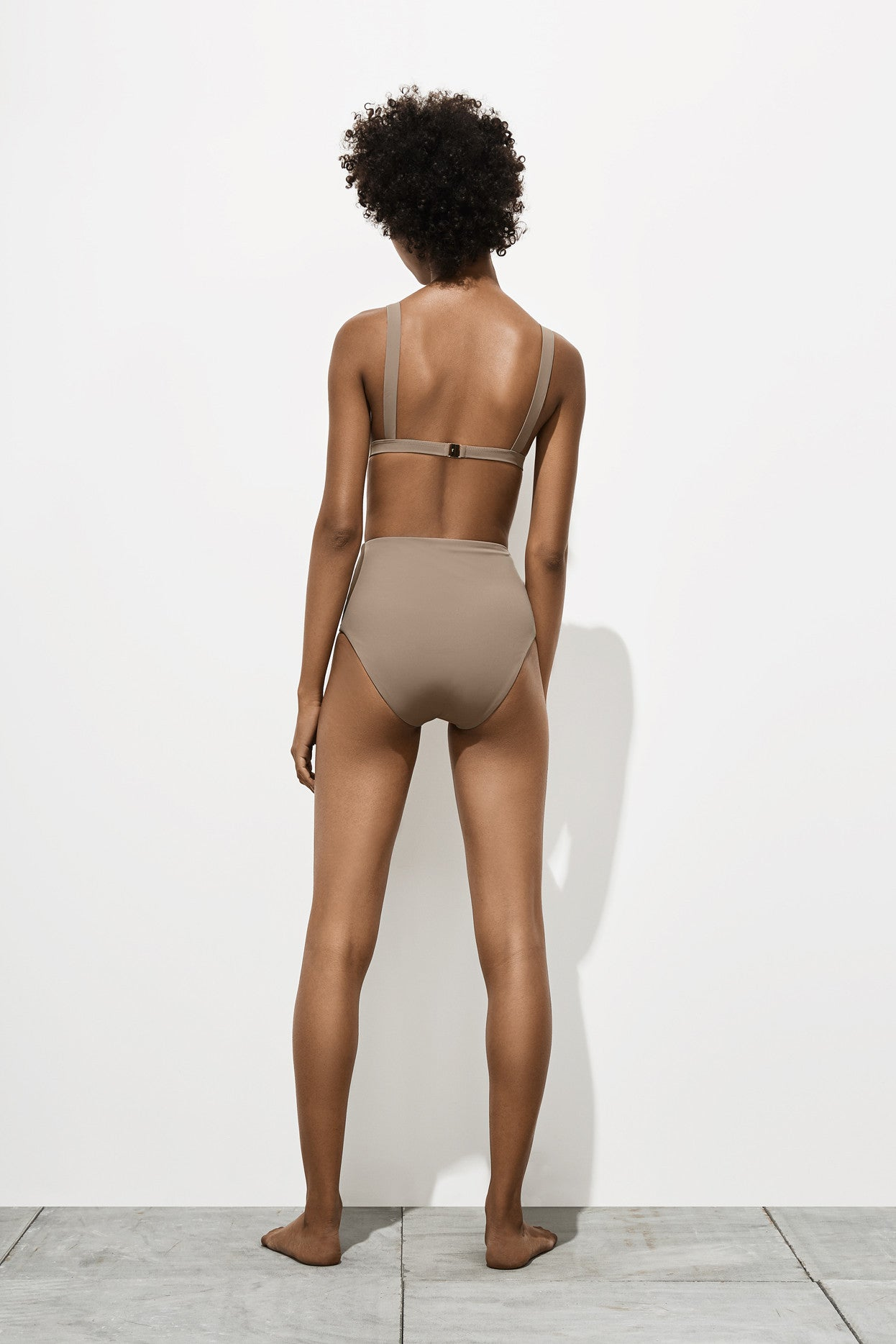 Audrey – Stone Taupe - Two Piece swimwear - Her.