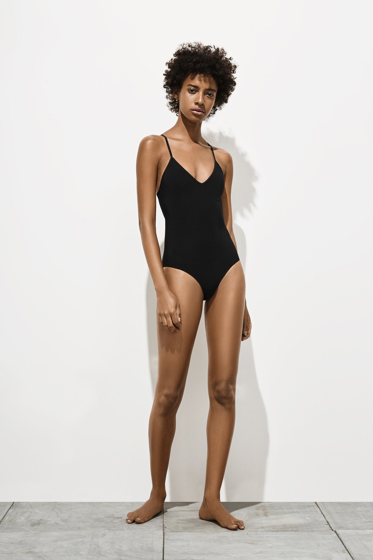 Dylan – Ivory Black - One Piece swimwear - Her.