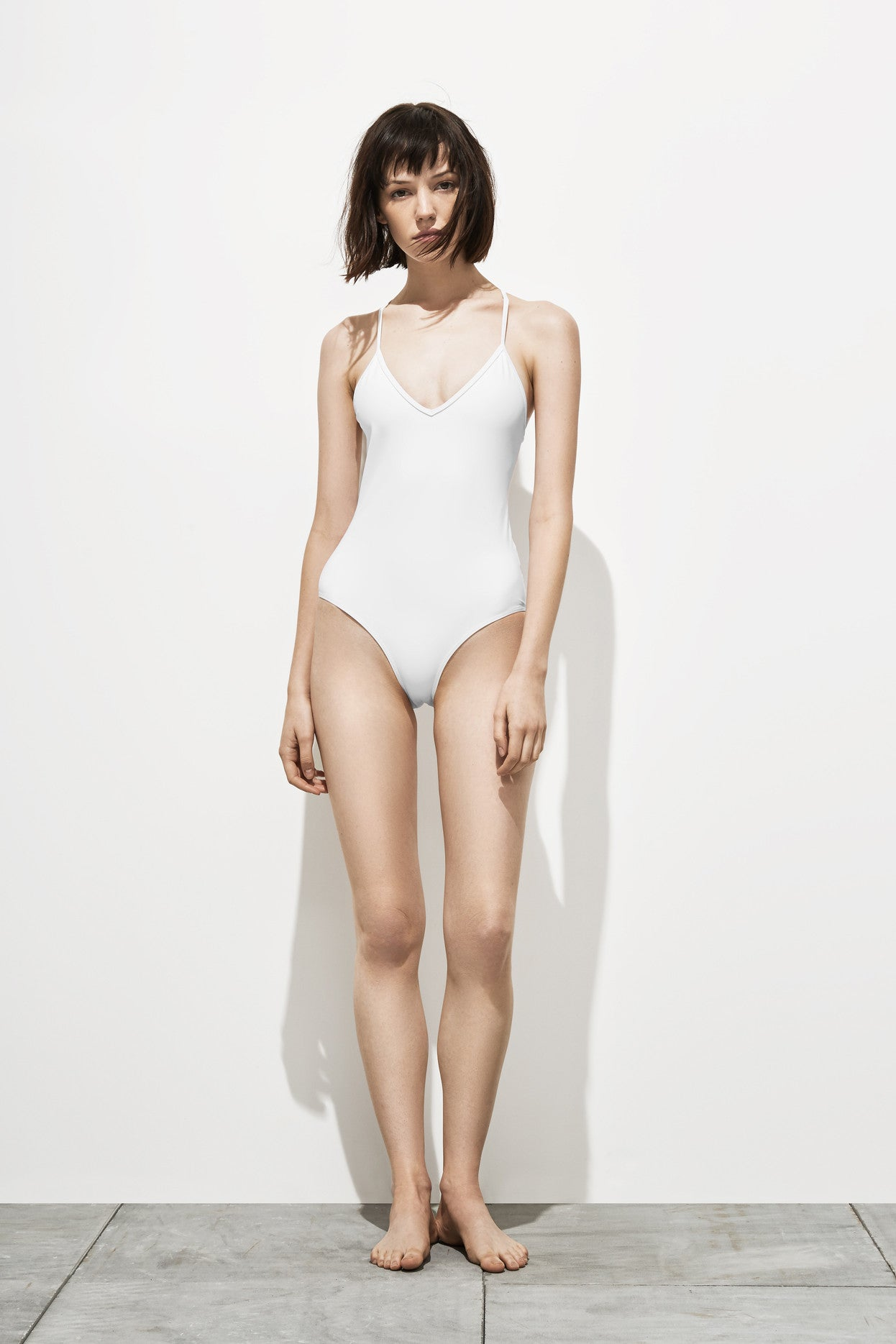 Dylan – White White - One Piece swimwear - Her.