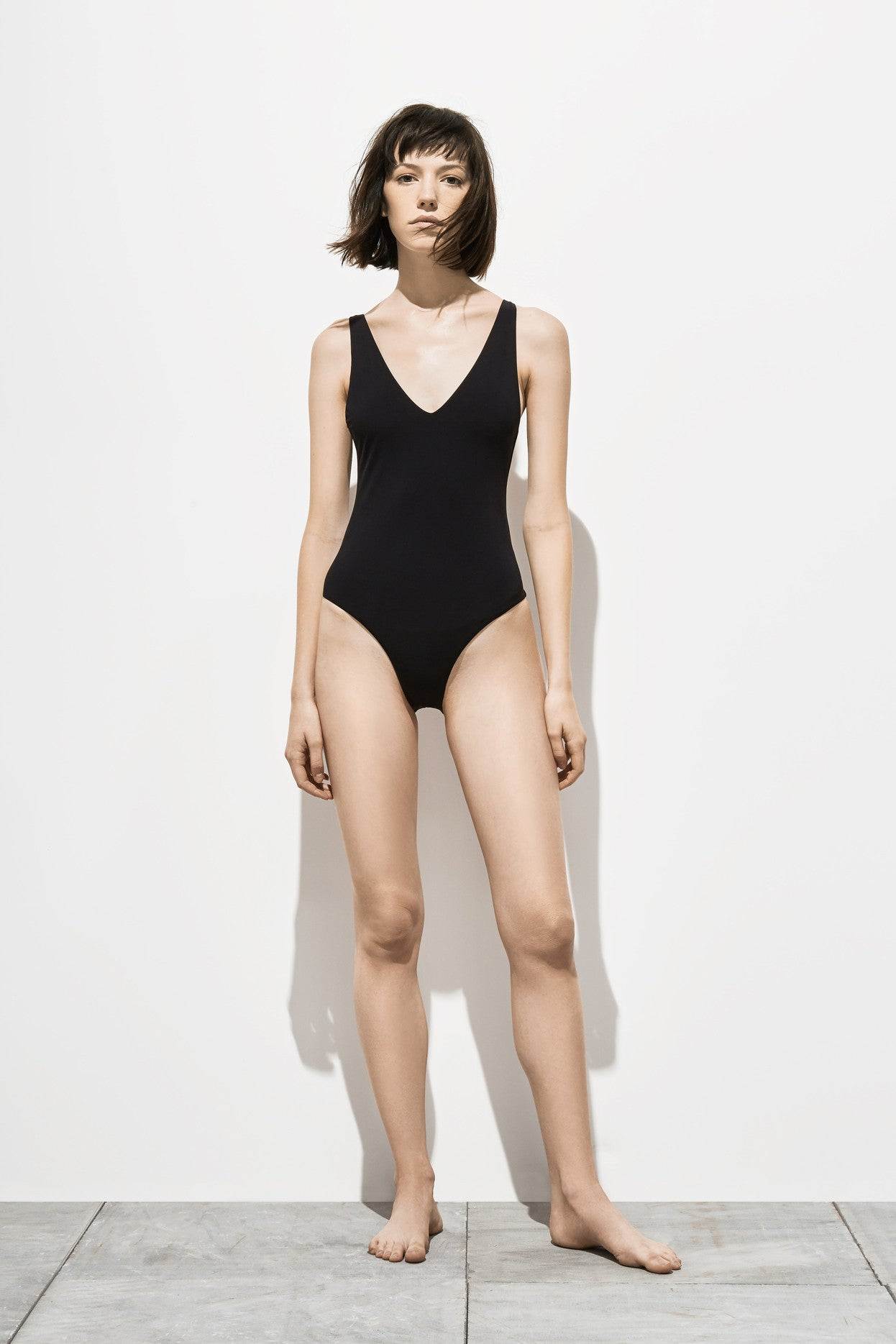 Ester – Coal Black - One Piece swimwear - Her.
