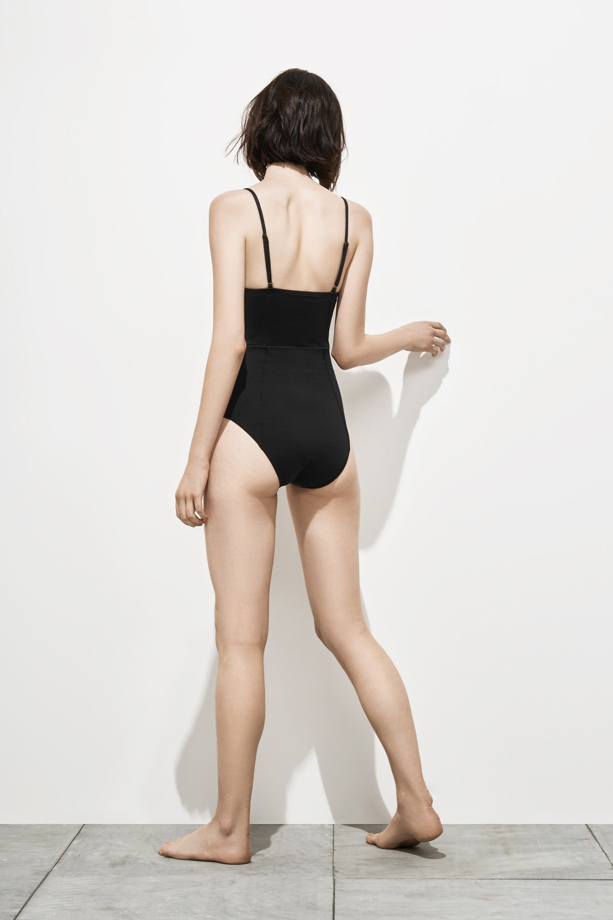 Freja – Coal Black - Swimwear swimwear - Her.
