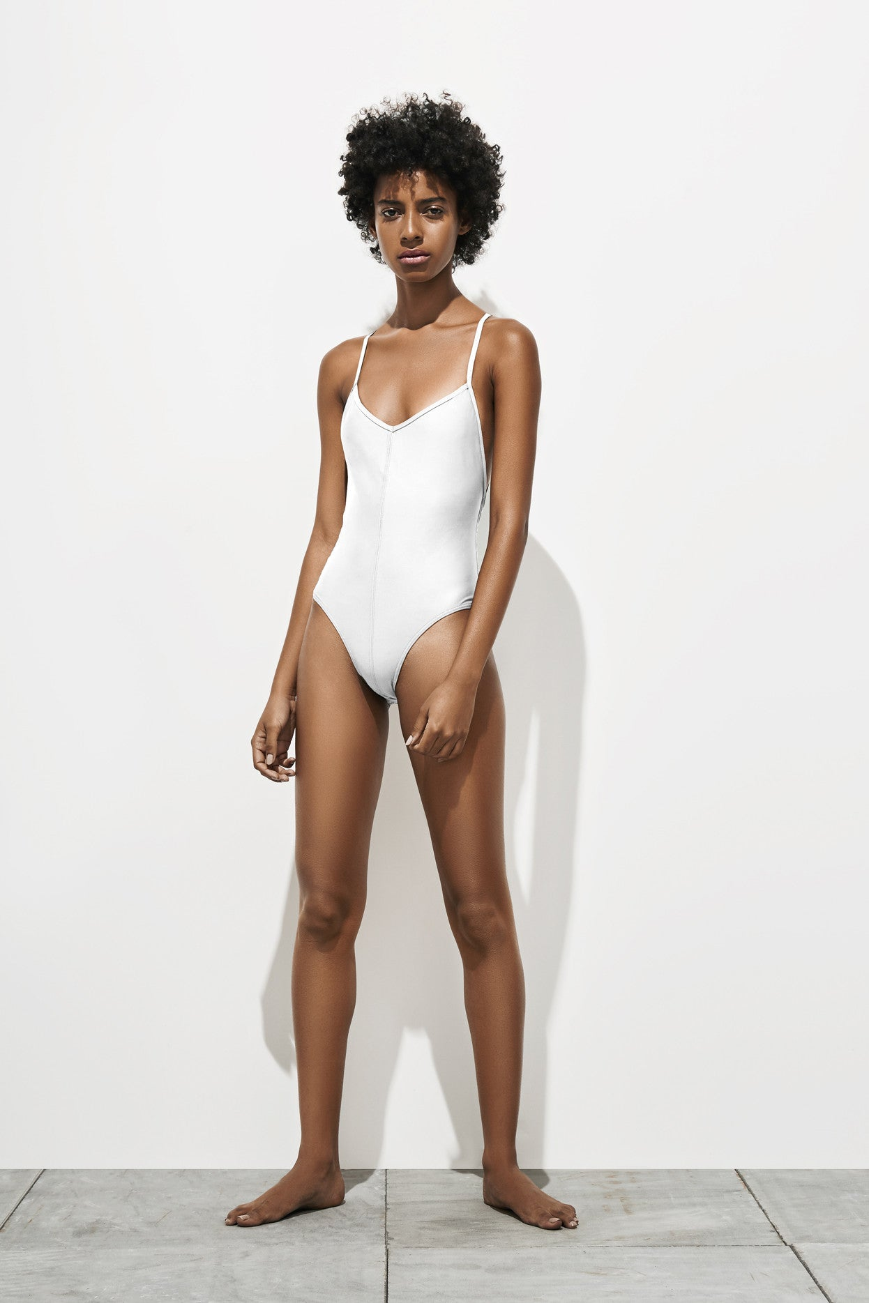 Georgia – Milk White - Swimwear swimwear - Her.