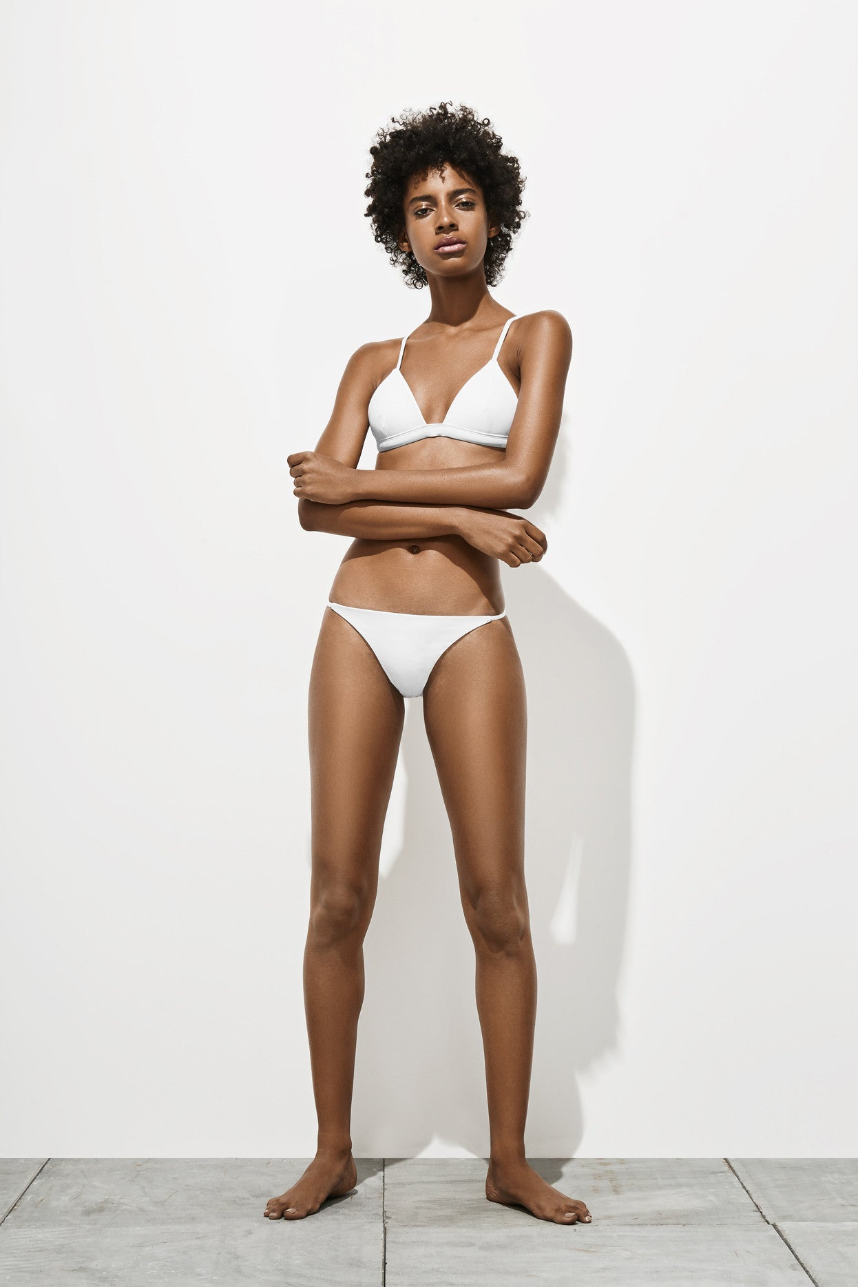 Mila – Milk White - Two Piece swimwear - Her.