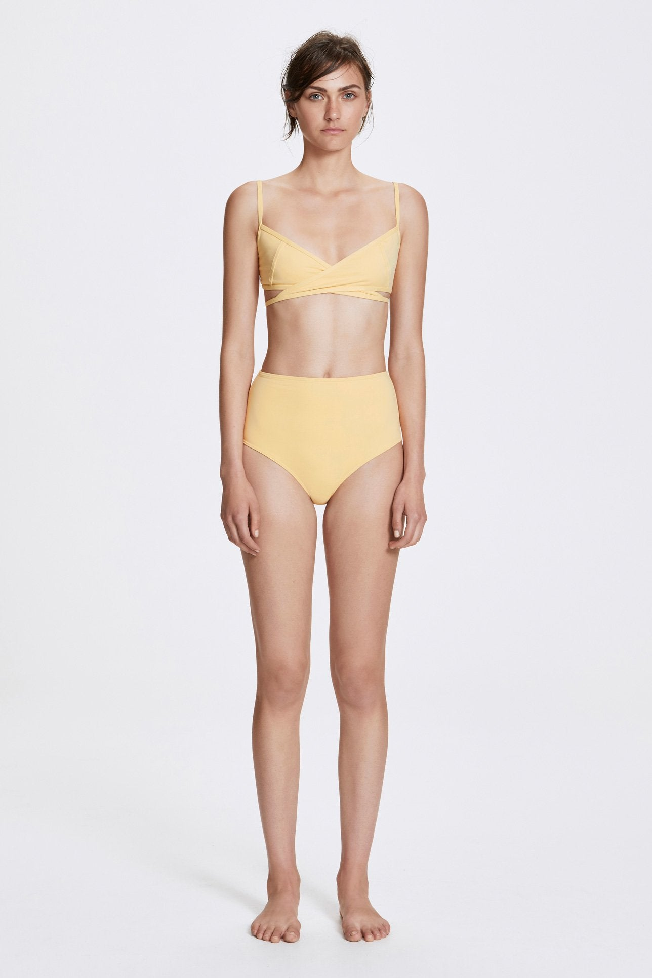 Rei two-piece set - Butter yellow - Swim two piece - Her Line