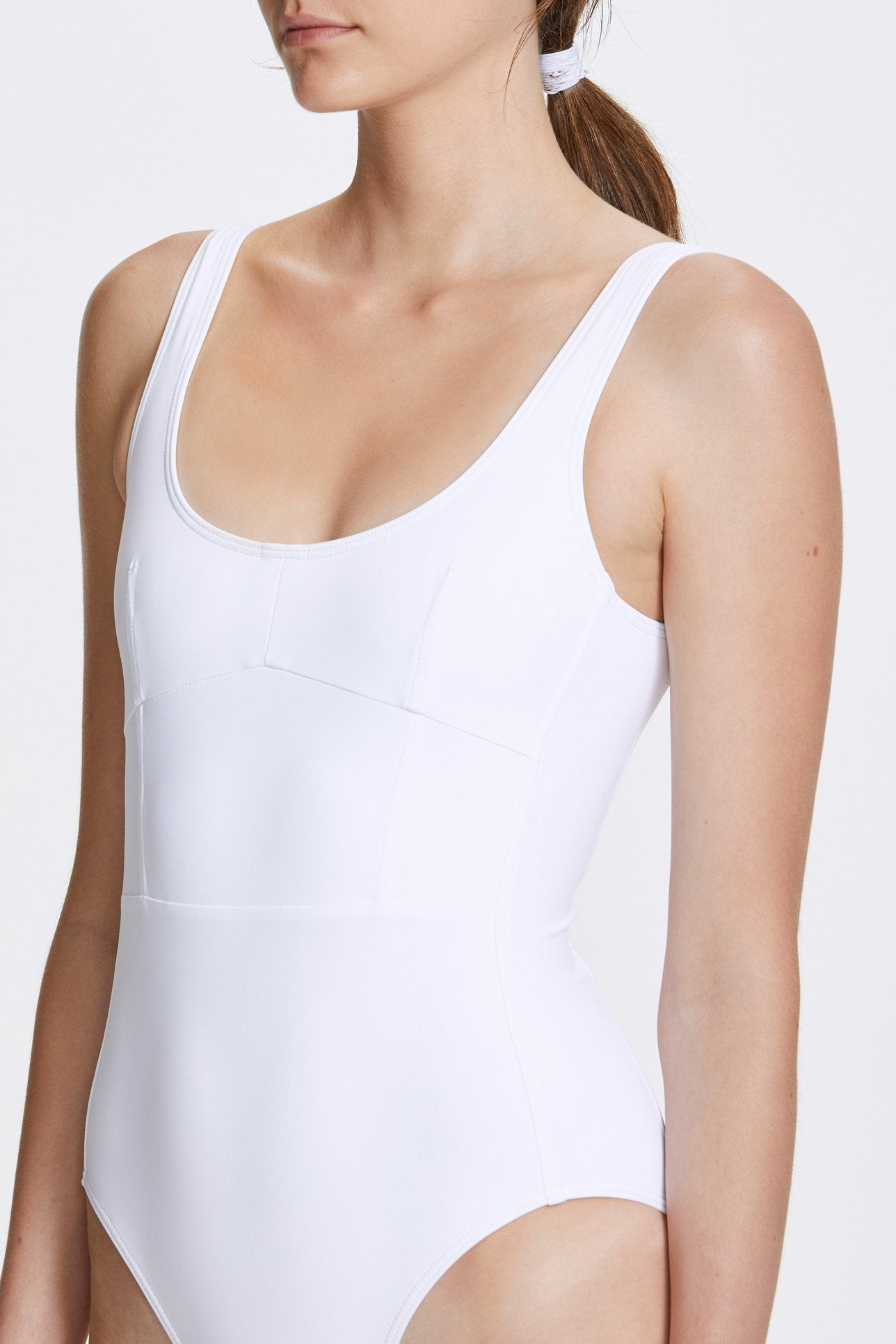 Marni one-piece - Milk white - Swim one piece - Her Line