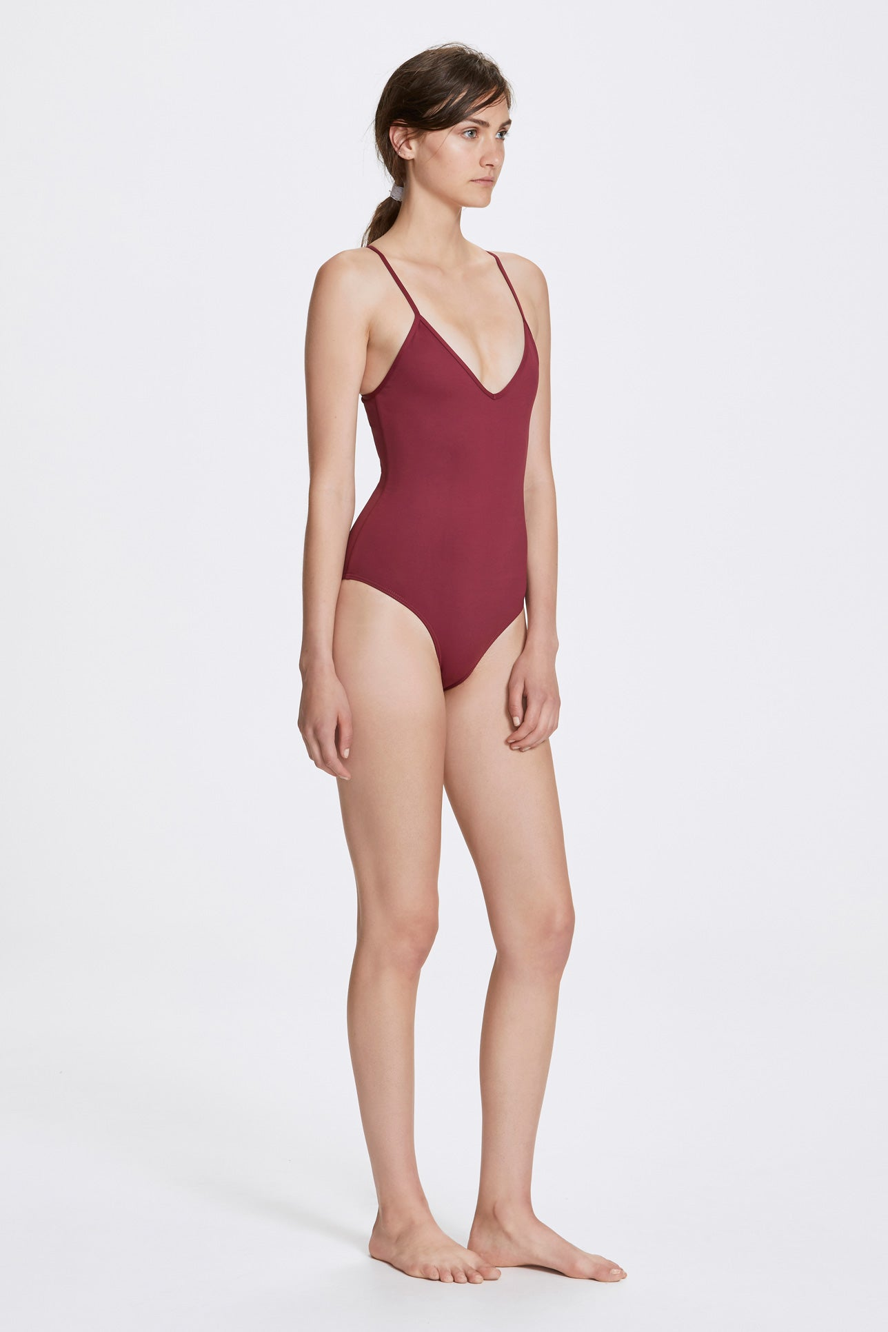 Dylan one-piece - Rhubarb red - Swim one piece - Her Line