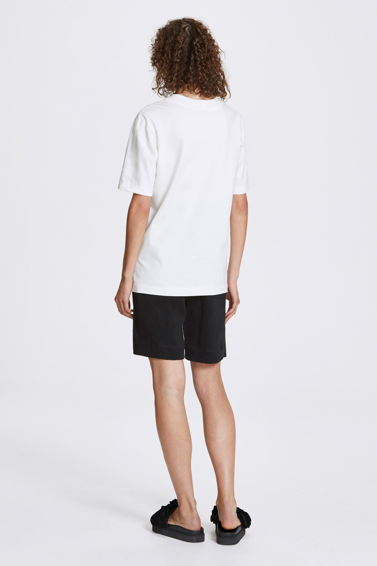 Homme classic t-shirt - Organic cotton jersey - White