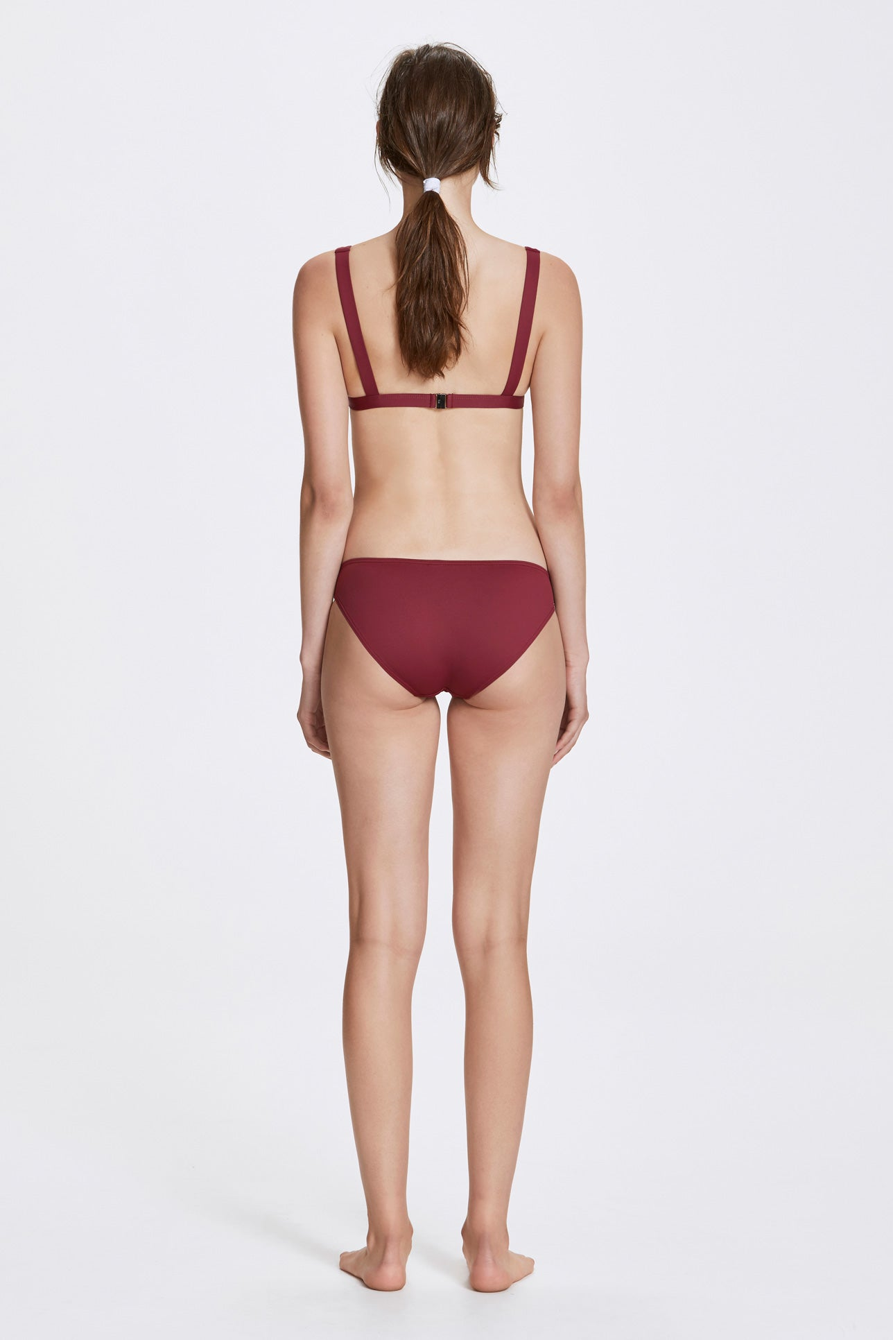 Audrey two-piece set - Rhubarb red