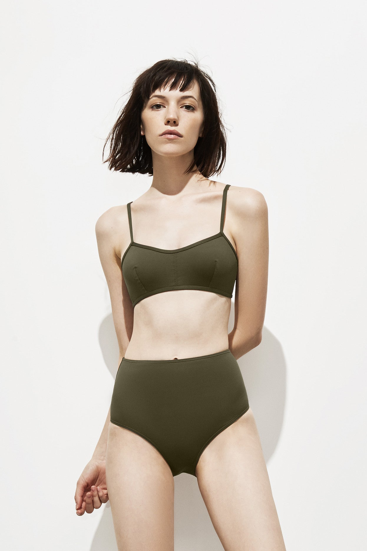 Astrid Top – Deep Khaki