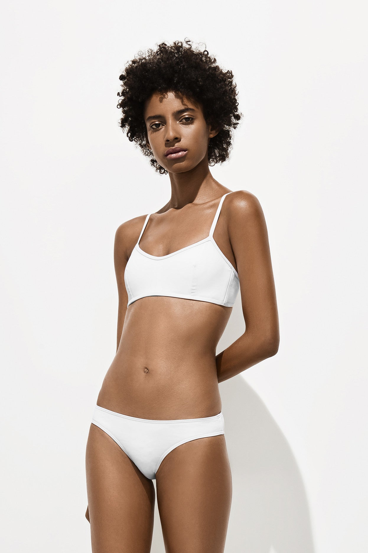 Astrid Top – Milk White