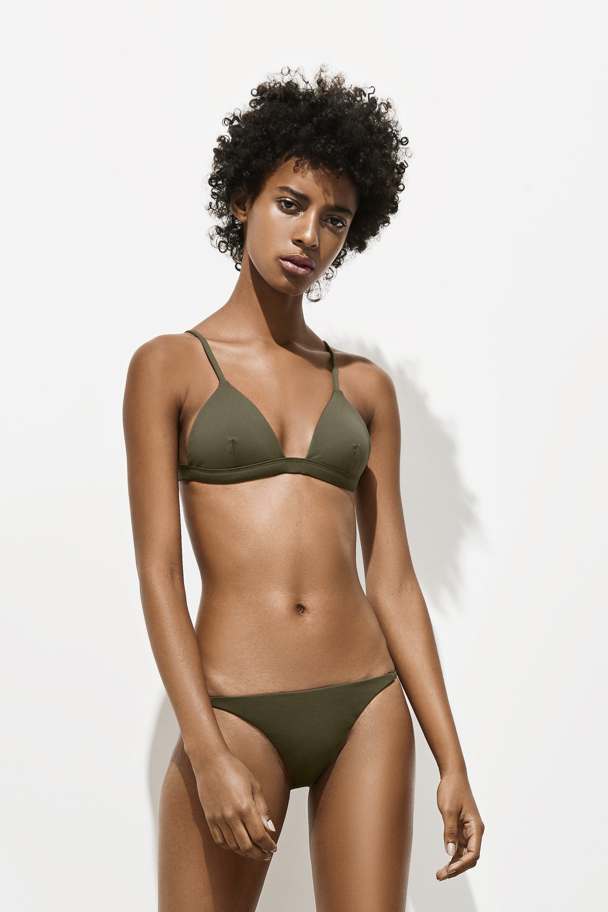 Side Strap Brief – Deep Khaki