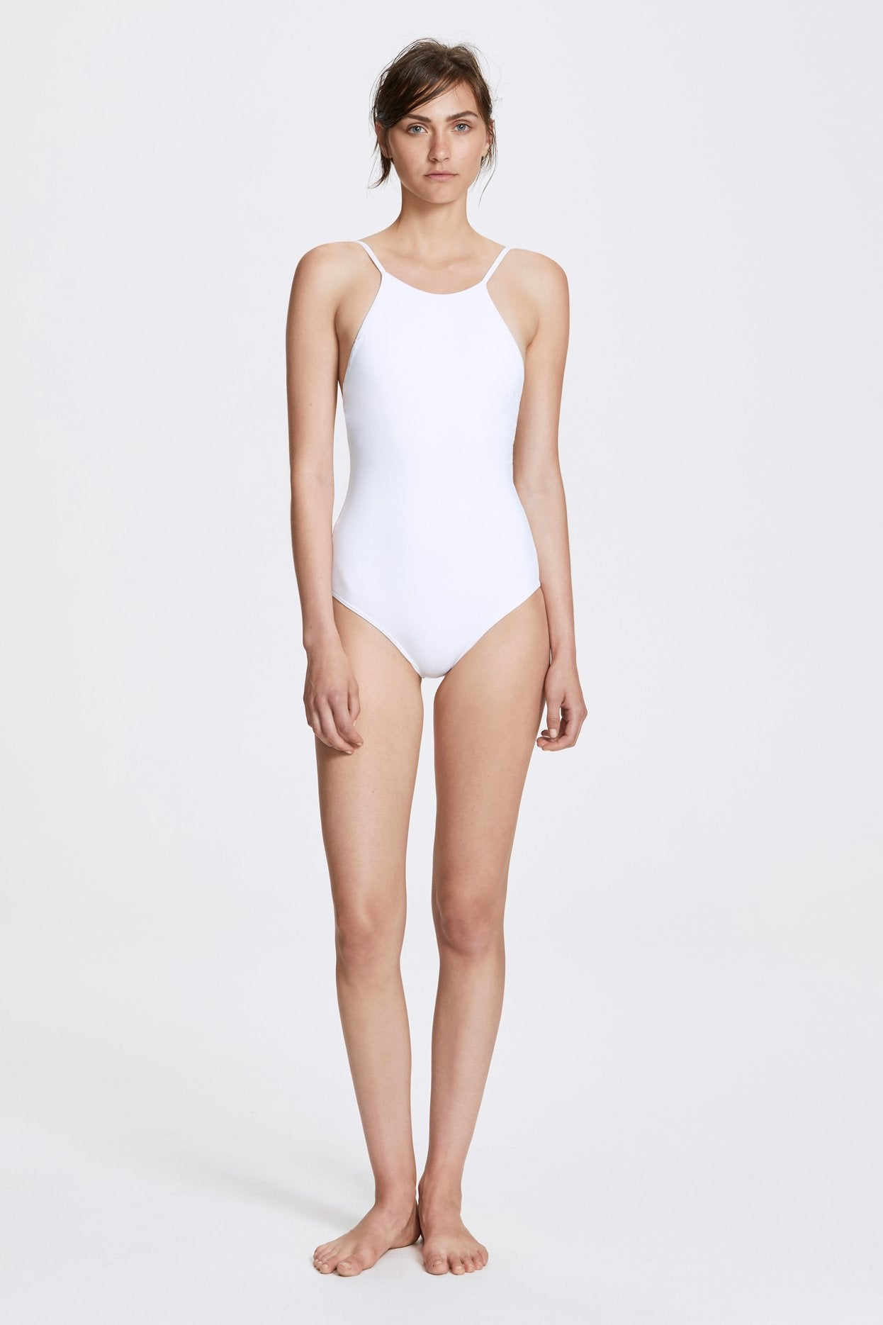 Her Line Jill Swimwear One Piece Milk White Front