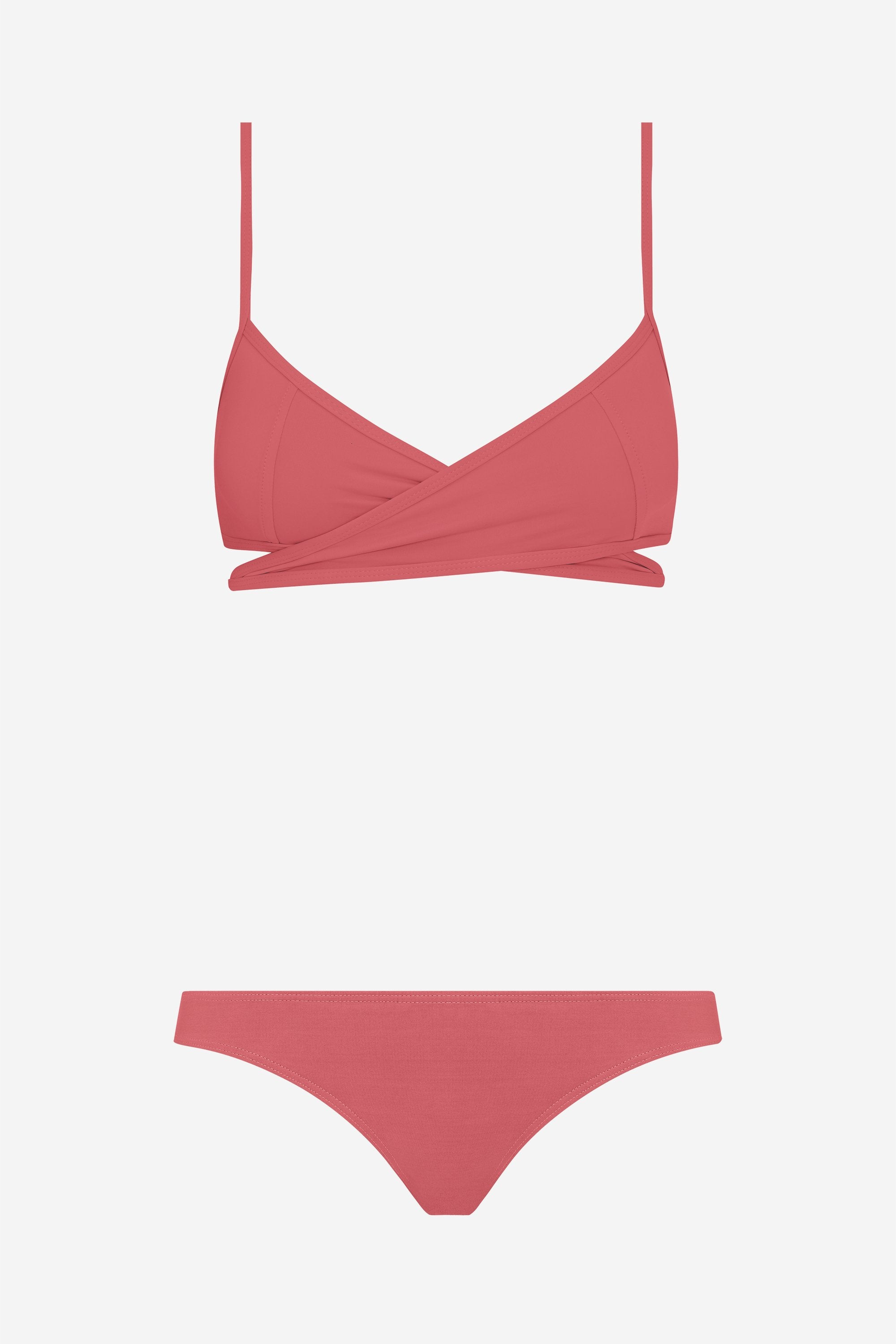 Rei two-piece set - Dusted pink - Swim two piece - Her Line