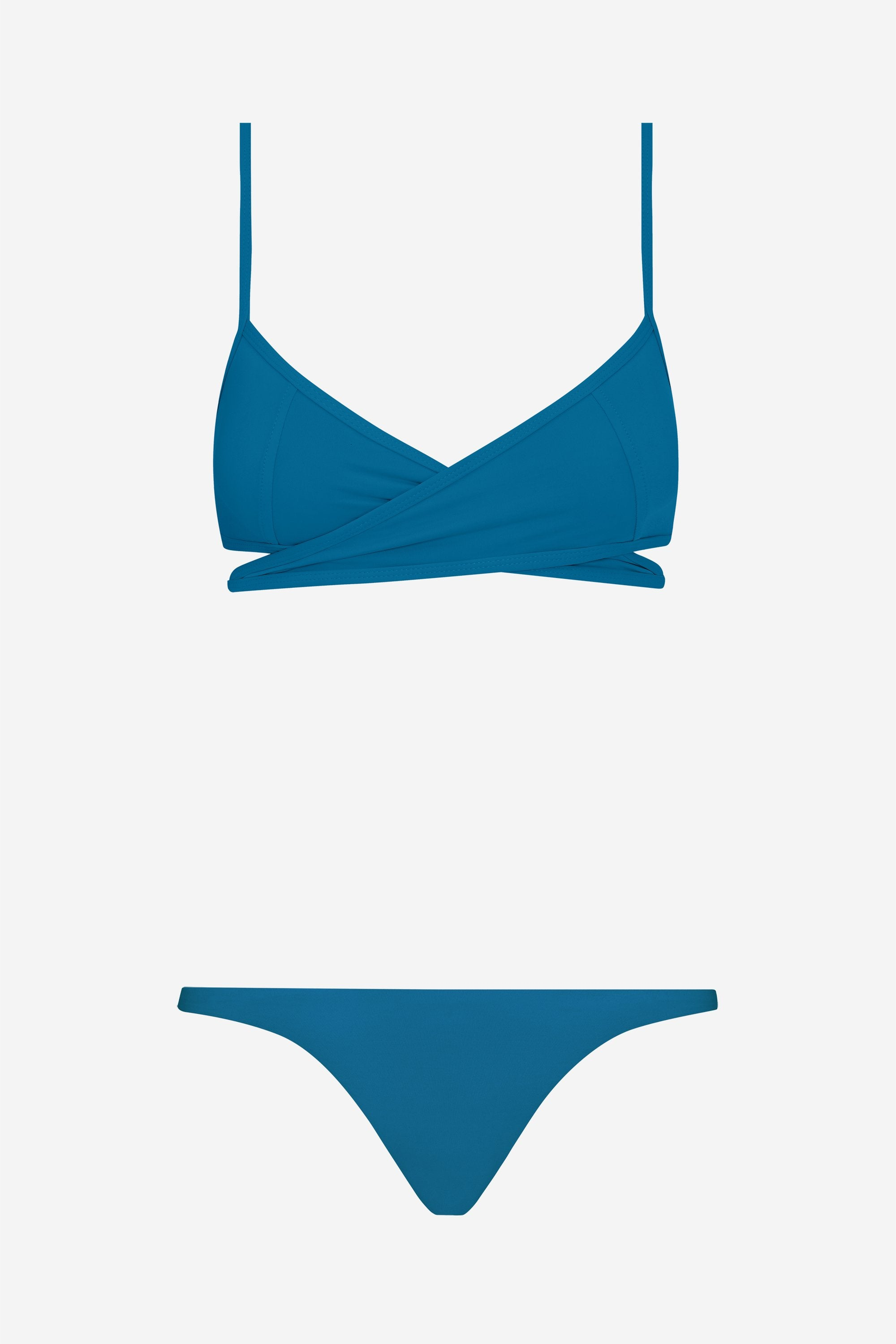 Rei two-piece set - True blue - Swim two piece - Her Line
