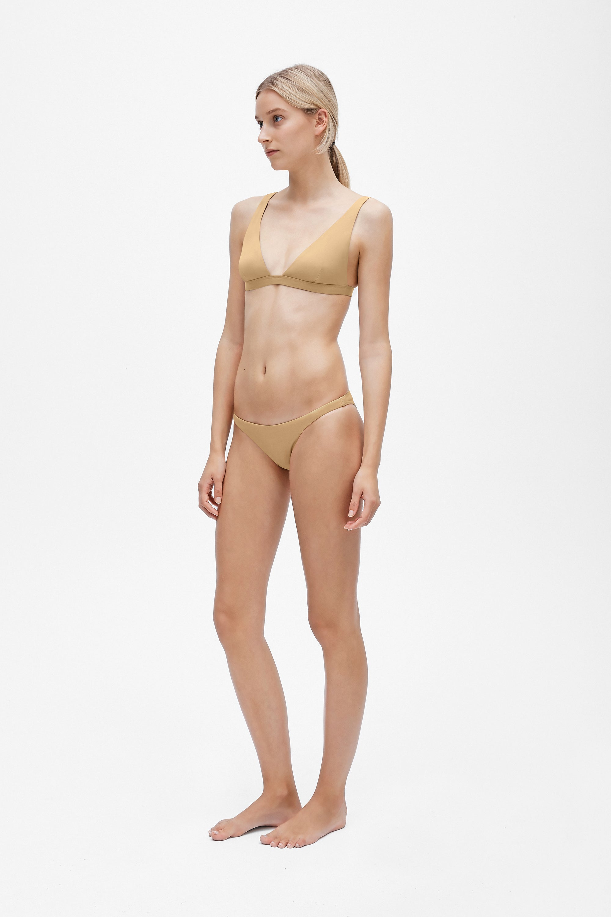 Tri brief - Light straw - Swim brief - Her Line