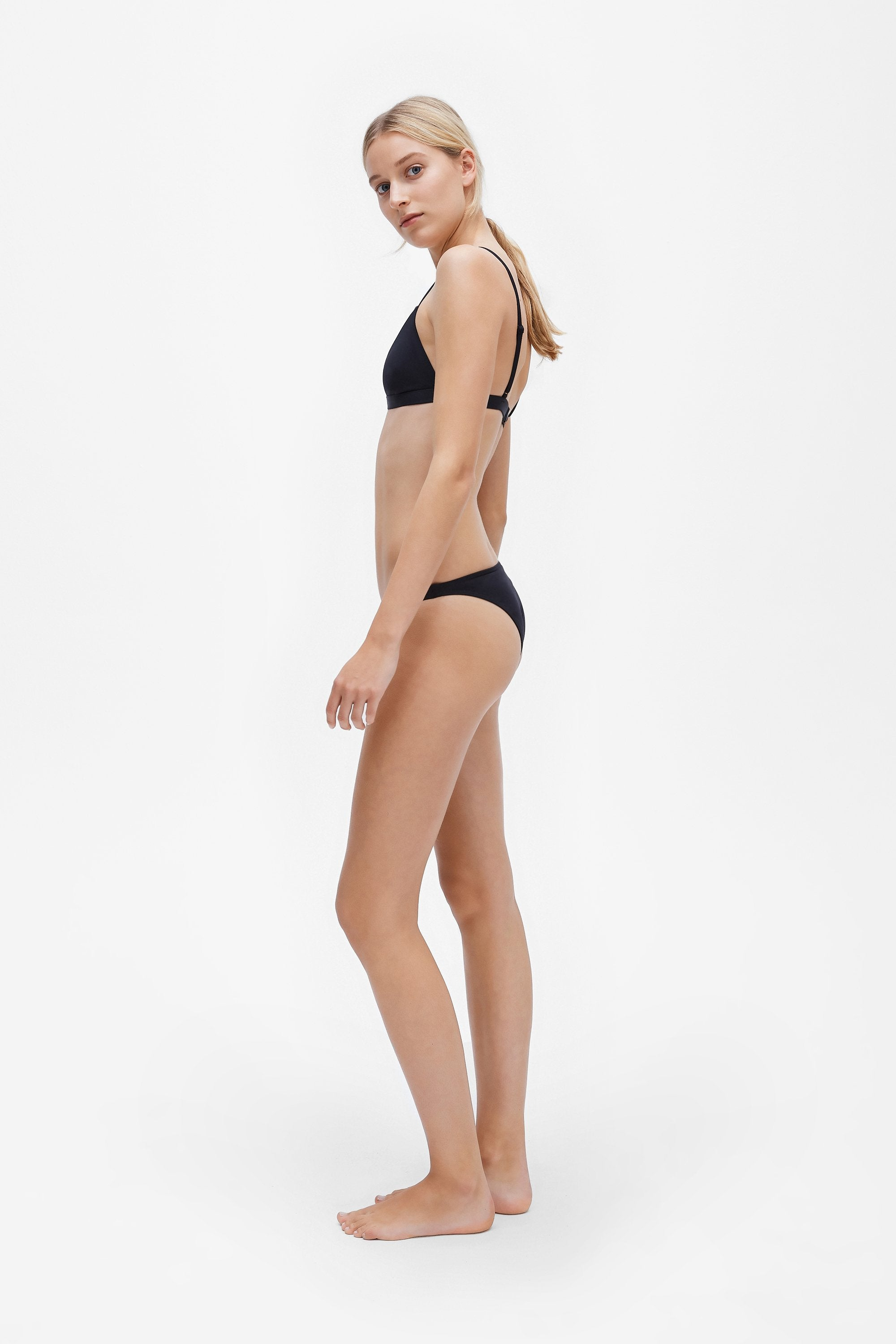 Ava two-piece set - Coal black - Swim two piece - Her Line