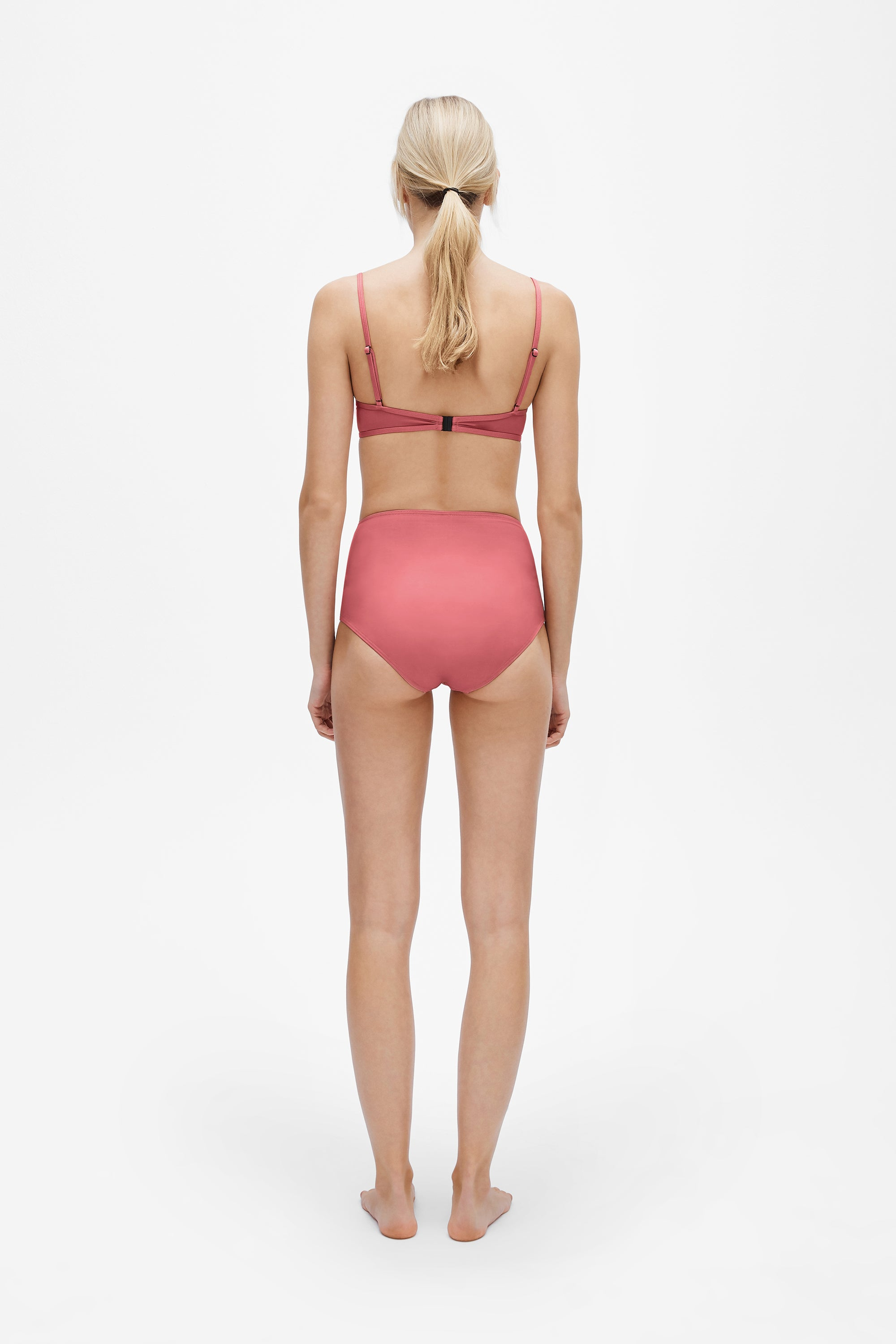 Elle top - Dusted pink - Swim top - Her Line