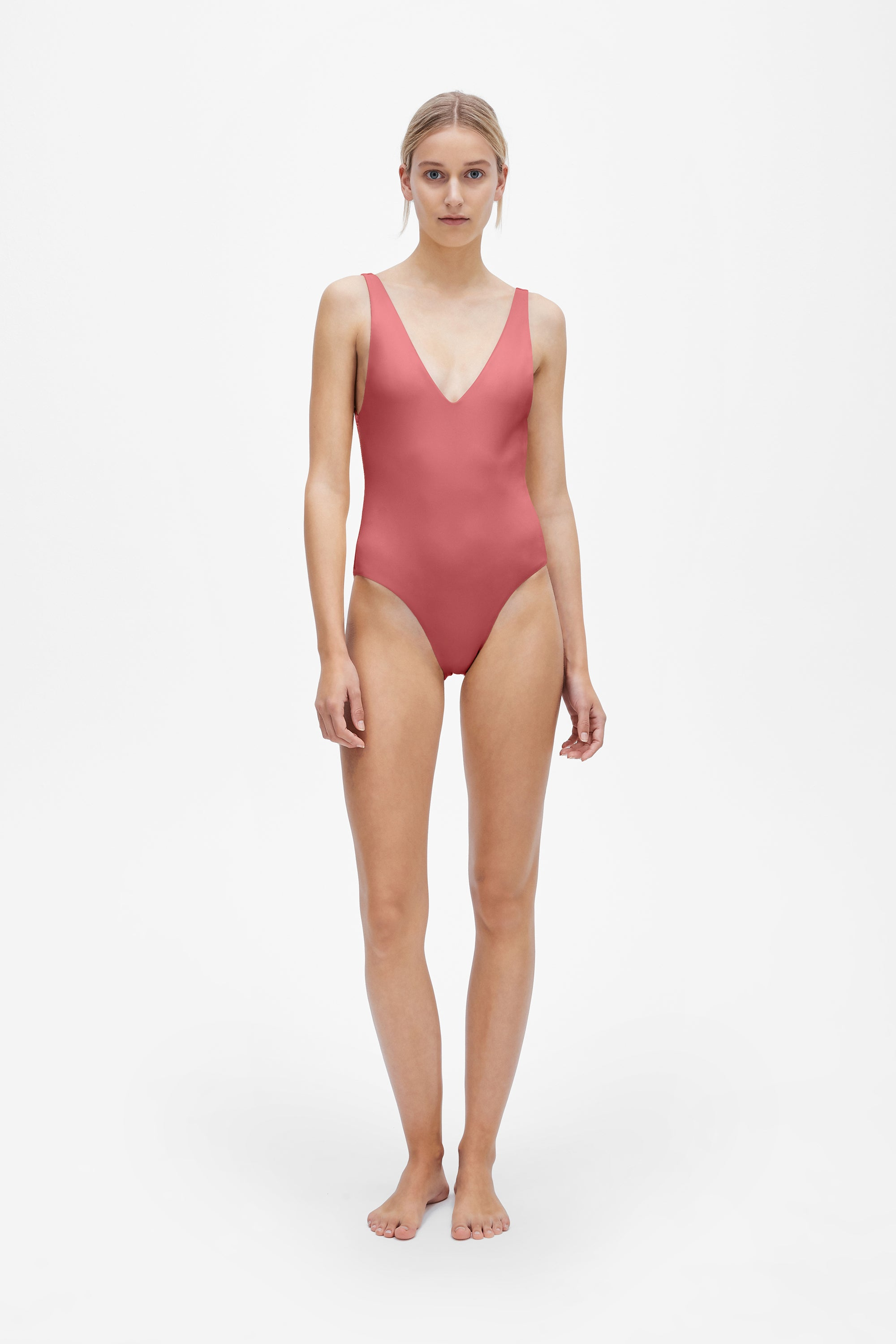 Ester one-piece - Dusted pink - Swim one piece - Her Line