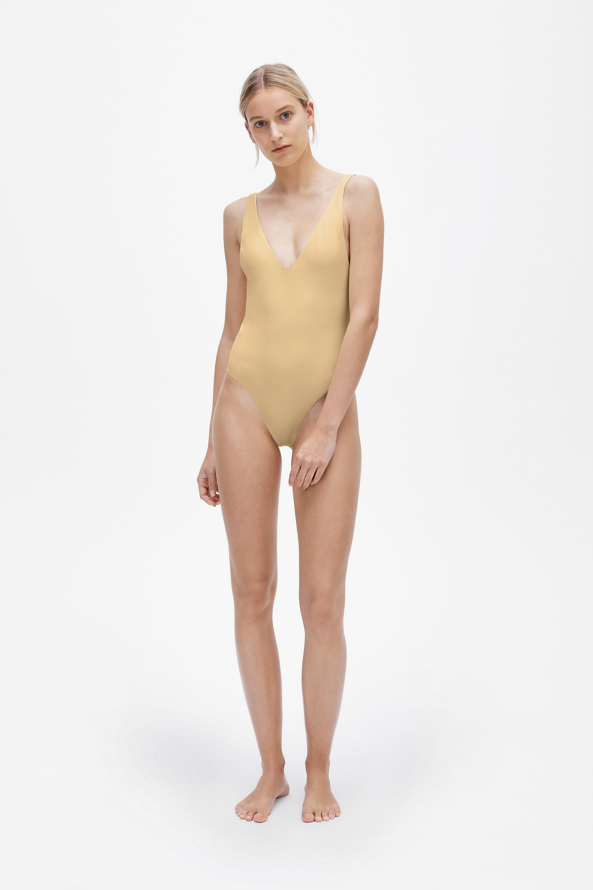 Ester one-piece - Light straw - Swim one piece - Her Line